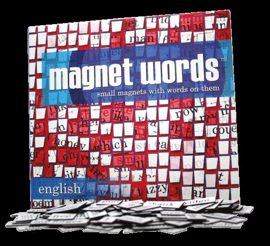 Magnetwörter Englisch