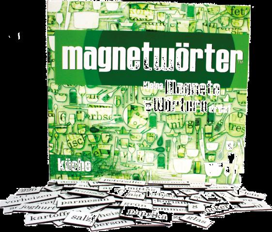 Magnetwörter Küche