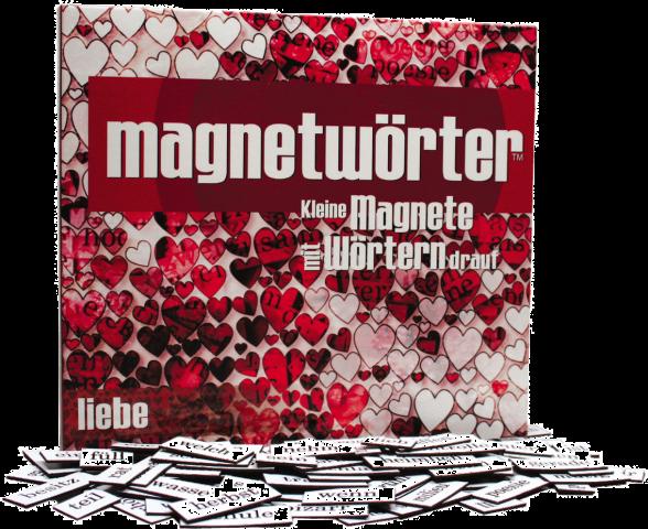 Magnetwörter Liebe
