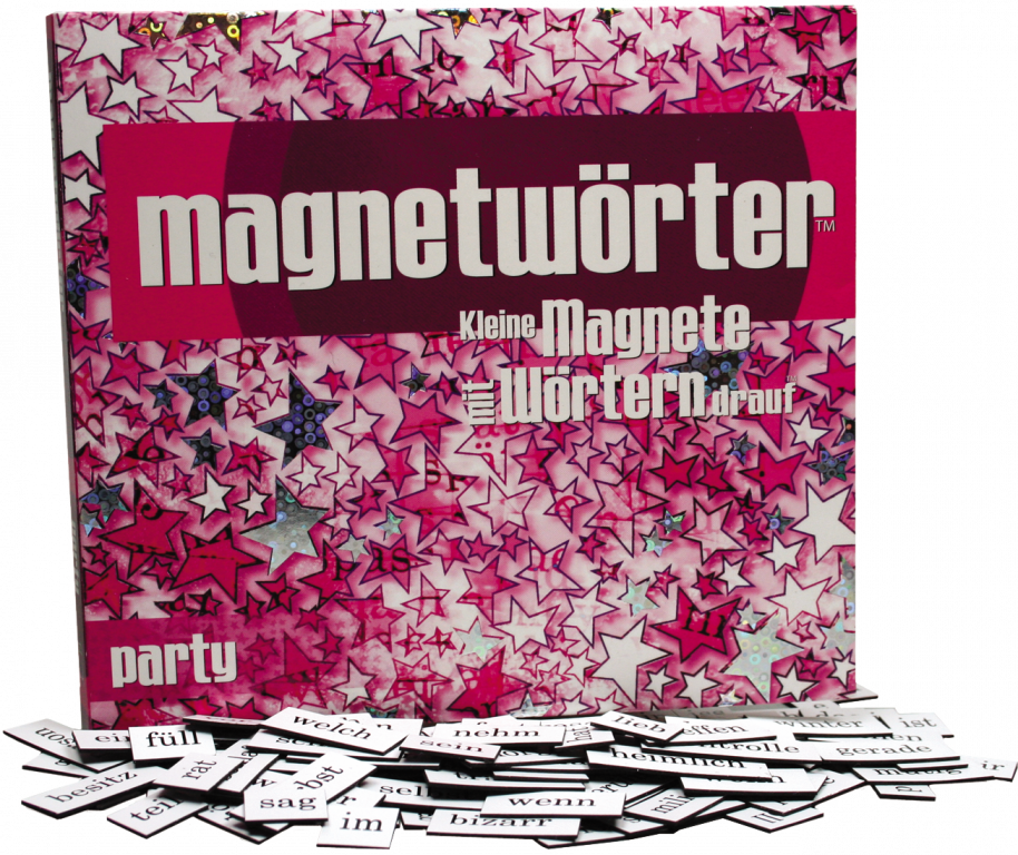 Magnetwörter Party