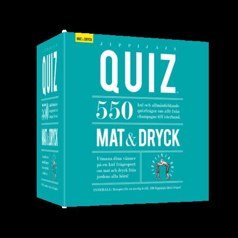 Jippijaja Quiz – Mat & Dryck