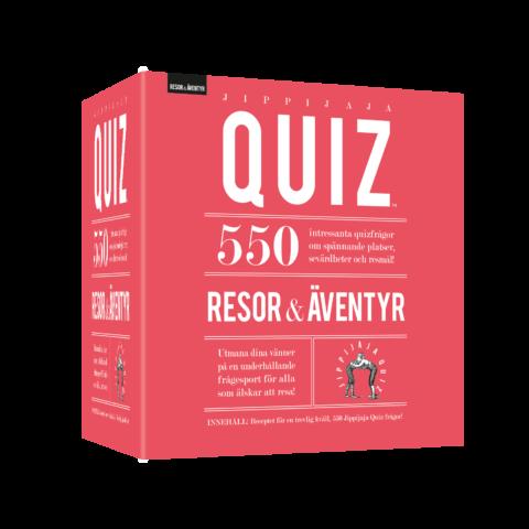 Jippijaja Quiz – Resor & Äventyr