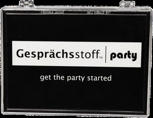 Gesprächstoff Party
