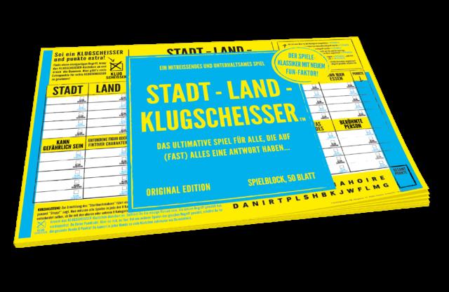 STADT-LAND-KLUGSCHEISSER